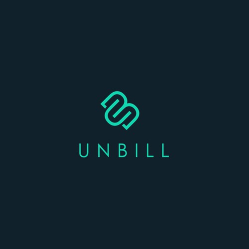 "Logo for mobile app ""Unbill"""