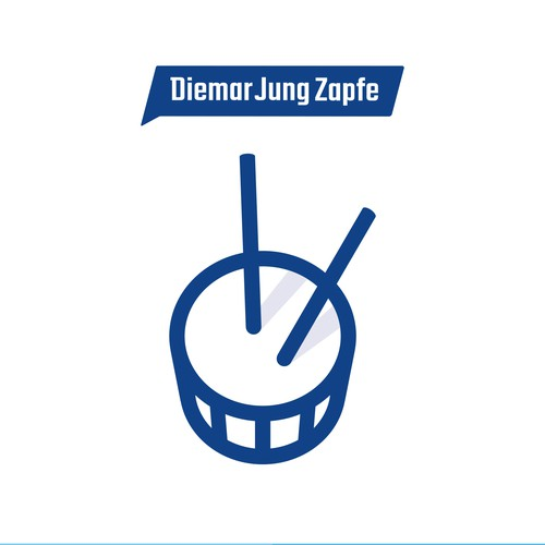 Logo Illustration for Diemar, Jung & Zapfe Werbeagentur