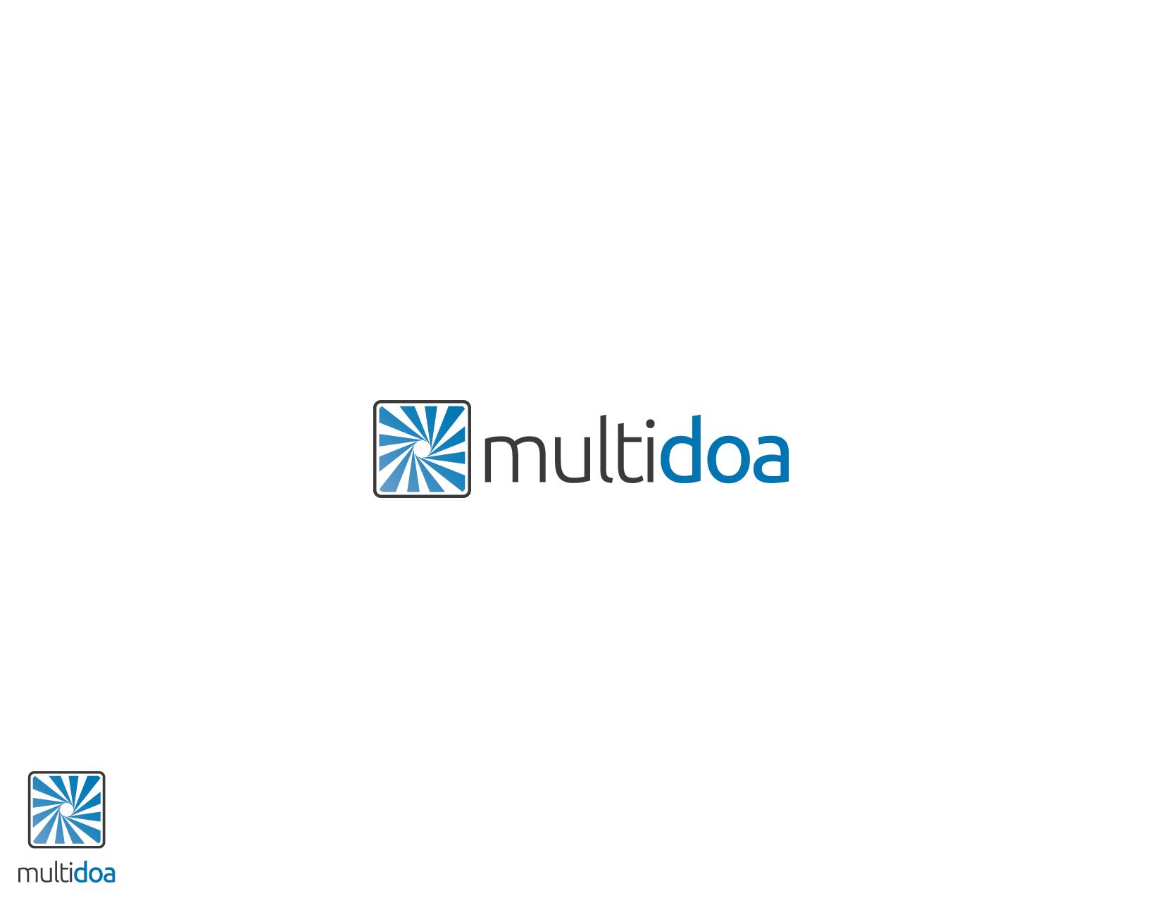 New logo  for MultiDoa! Help us change the world.