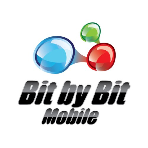Create the next logo for Bit by Bit Mobile