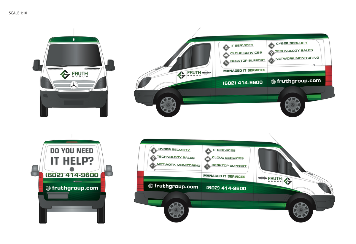 Second Wrap for a NEW Sprinter Van