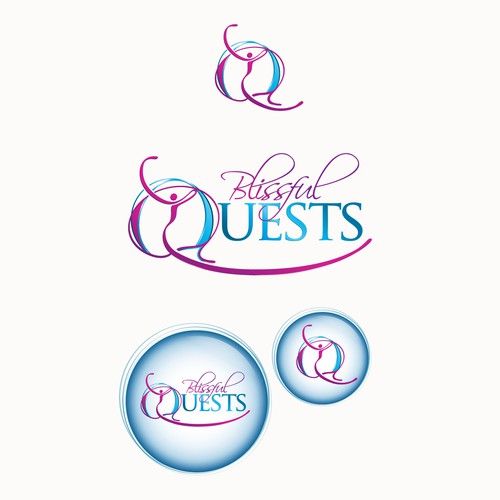 Create the next logo for Blissful Quests