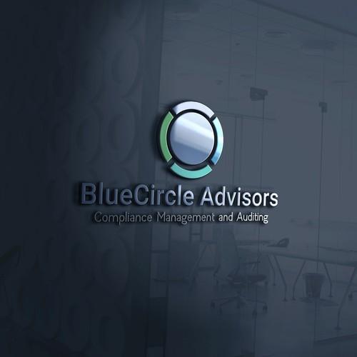 logo concept for BlueCircle Advisors