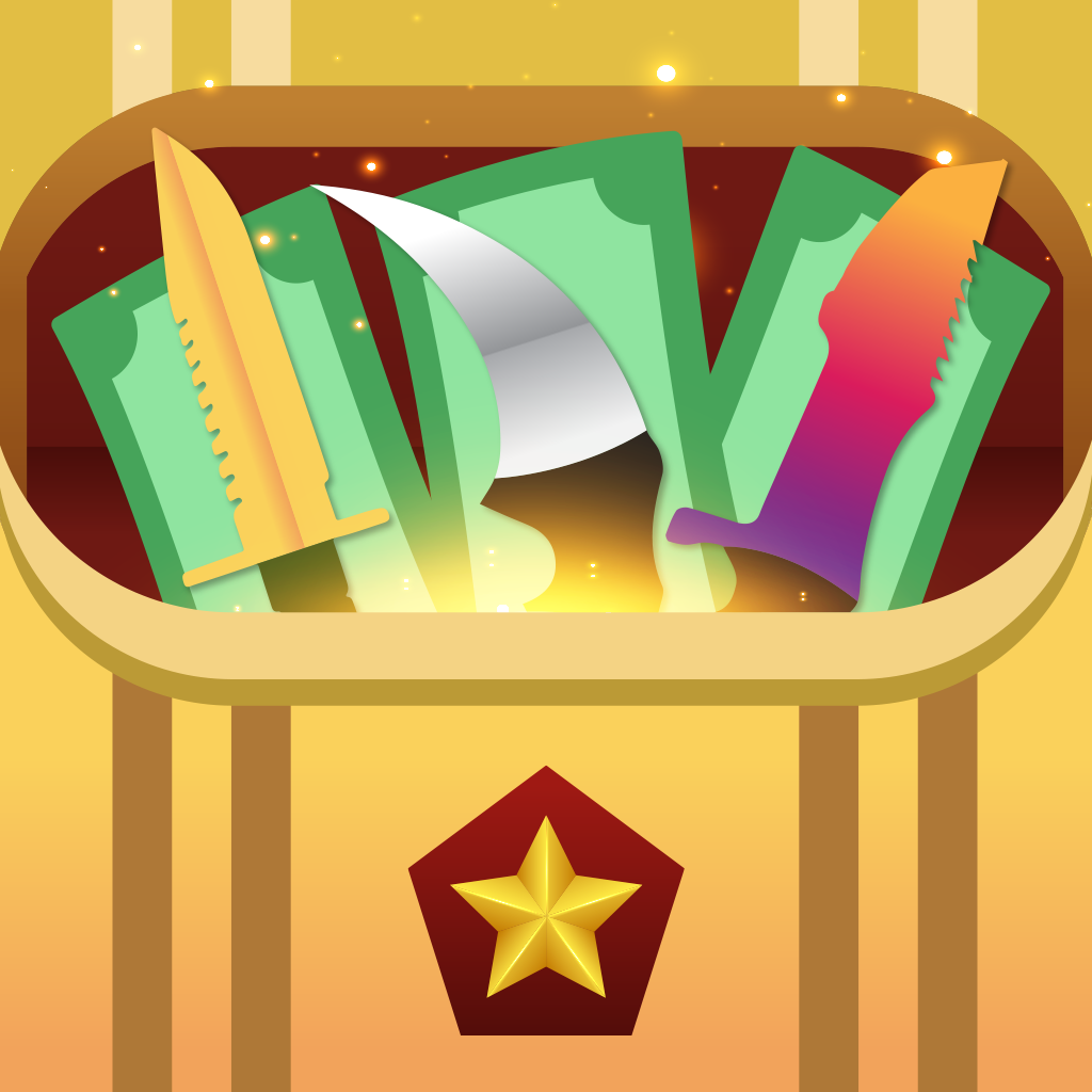 An awesome take on an app icon for a Case Simulator Game for Counter Strike required!