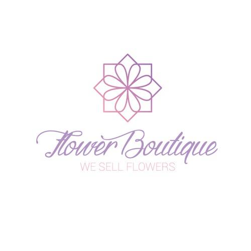 sophisticated flower shop design