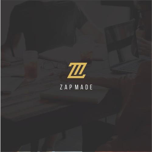 Zap Made Logo Design