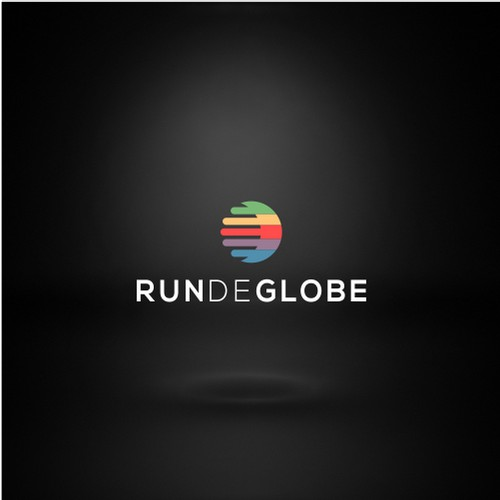 Design a new logo for our travel agency targeted at runners
