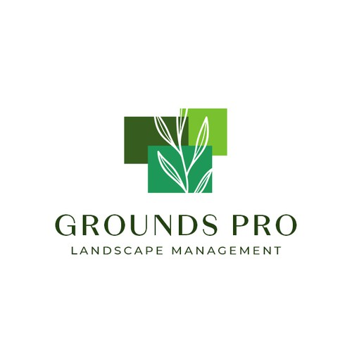 Landscaping company logo concept