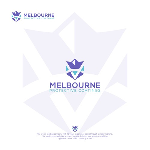 Flat Logo design For Melbourne