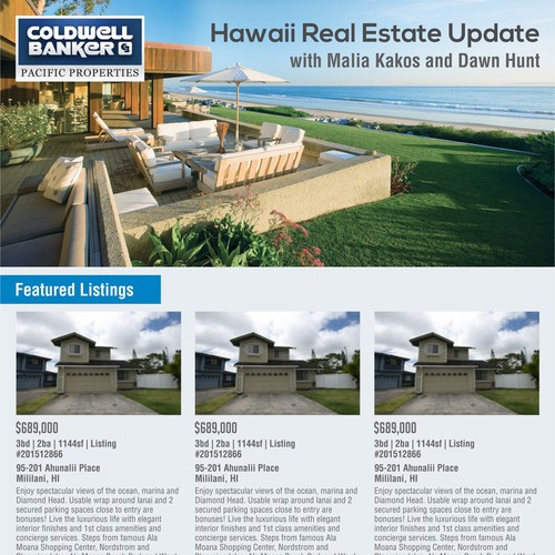 Newsletter for Hawaii Real Estate Update
