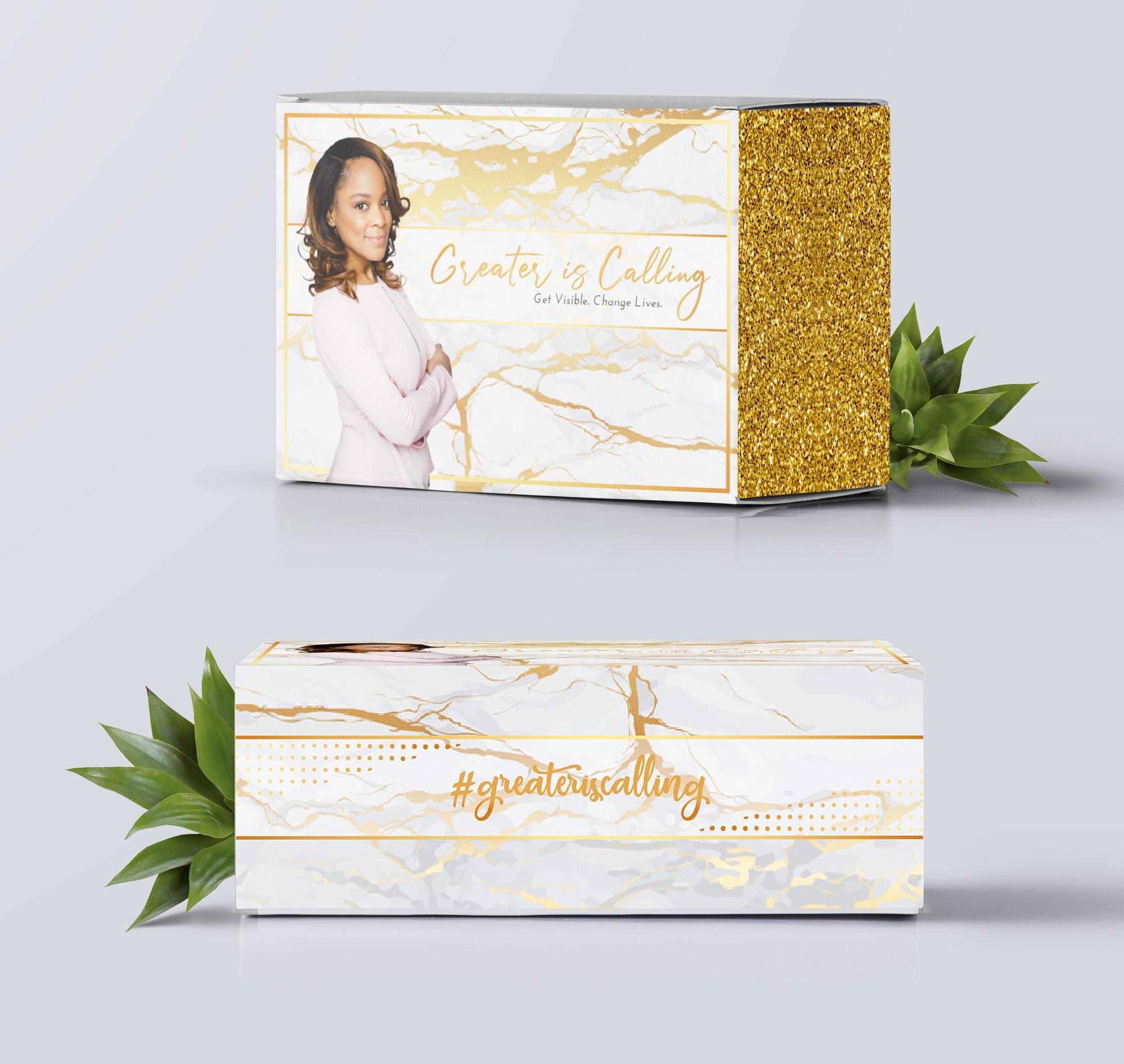 Design a subscription box for feminine brand