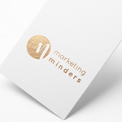 Marketing minders logo design