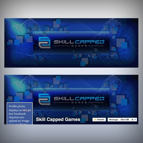 Facebook header for skill capped games