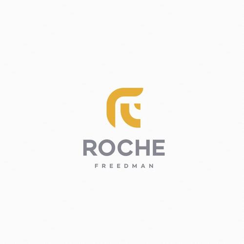 minimal Roche Freedman logo