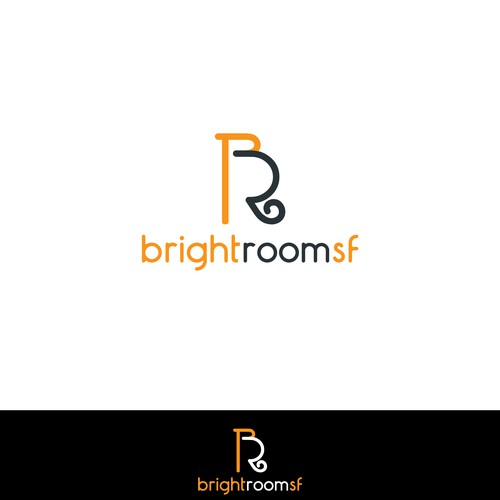 Create a modern logo for an interior and architectural photographer