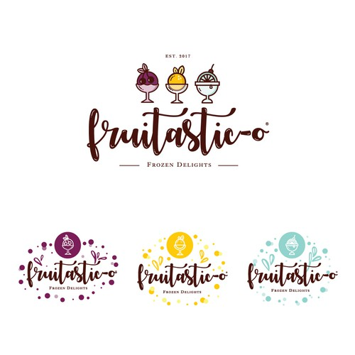 Logo concept for Fruitastic-O