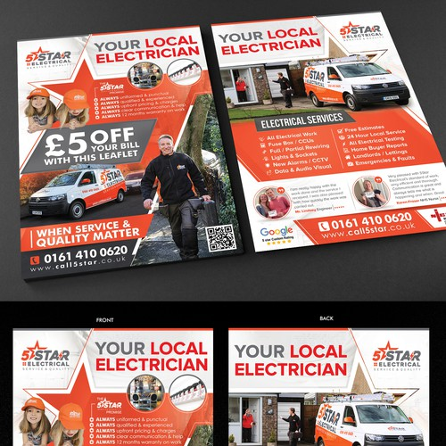 Marketing Leaflet Flyer