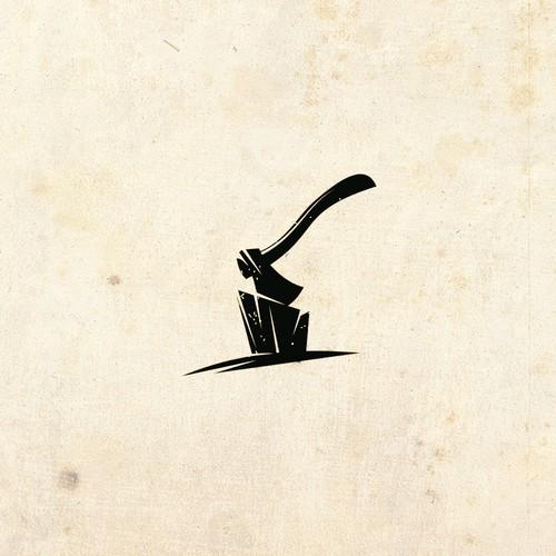 Bold logo for a beard oil brand