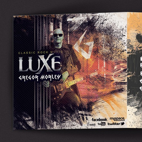"""Design an Album Cover for the upcoming debut Rock CD """"LUXE"""" from GREGOR MORLEY"""