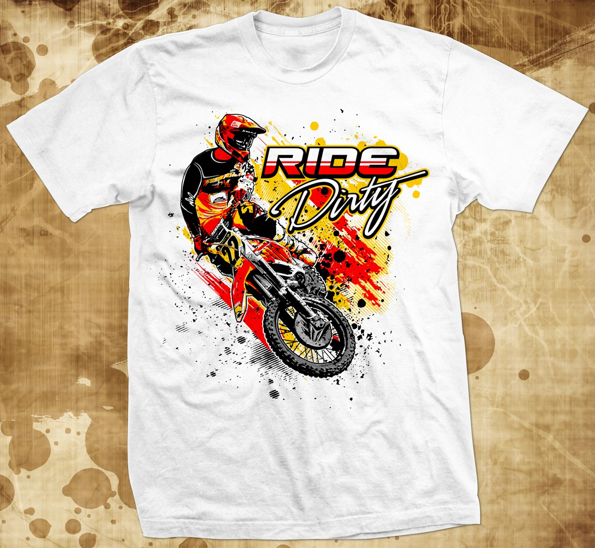 New t-shirt design wanted for RIde Dirty