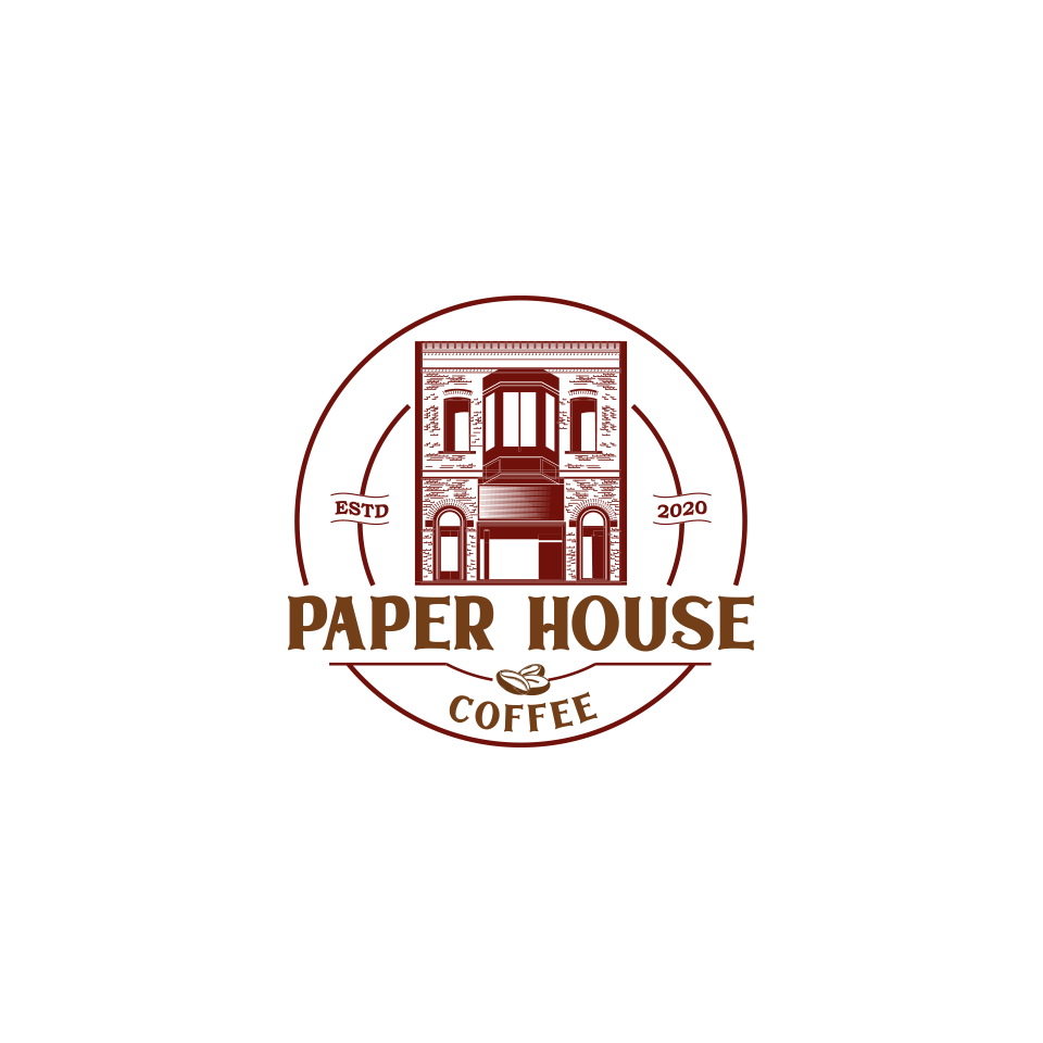 """Printing Press turns coffee shop. Name is """"Paper House Coffee"""""""