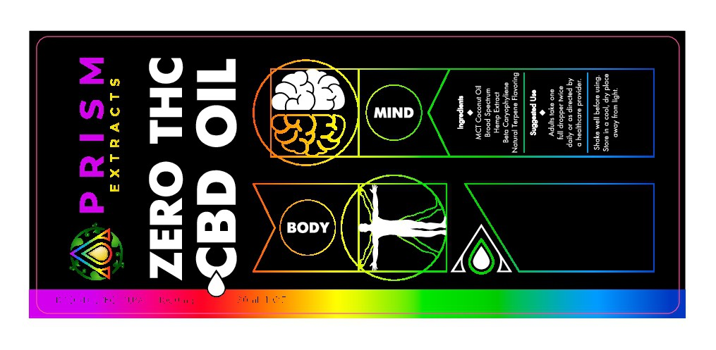Label for CBD Oil Tincture - This will go on your highlight reel trust me!
