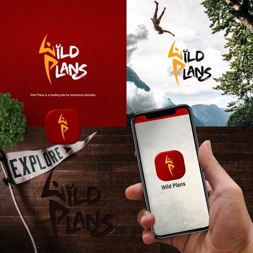 Wild Plans Logo Designs