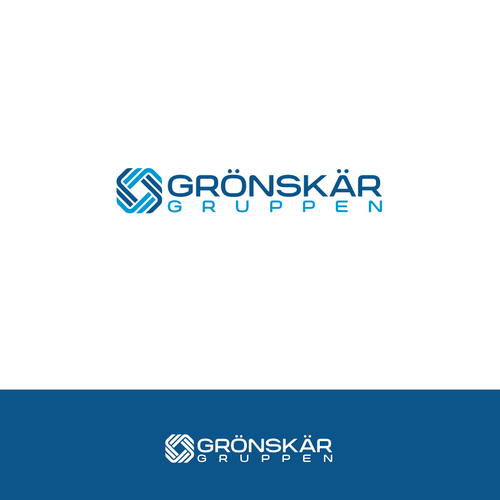 Grönskär Gruppen Logo Design