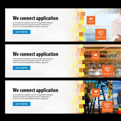 Cool - Clean - Bold Website Banner