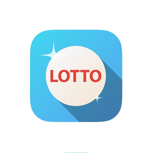 Lotto app icon (1-to-1 project)