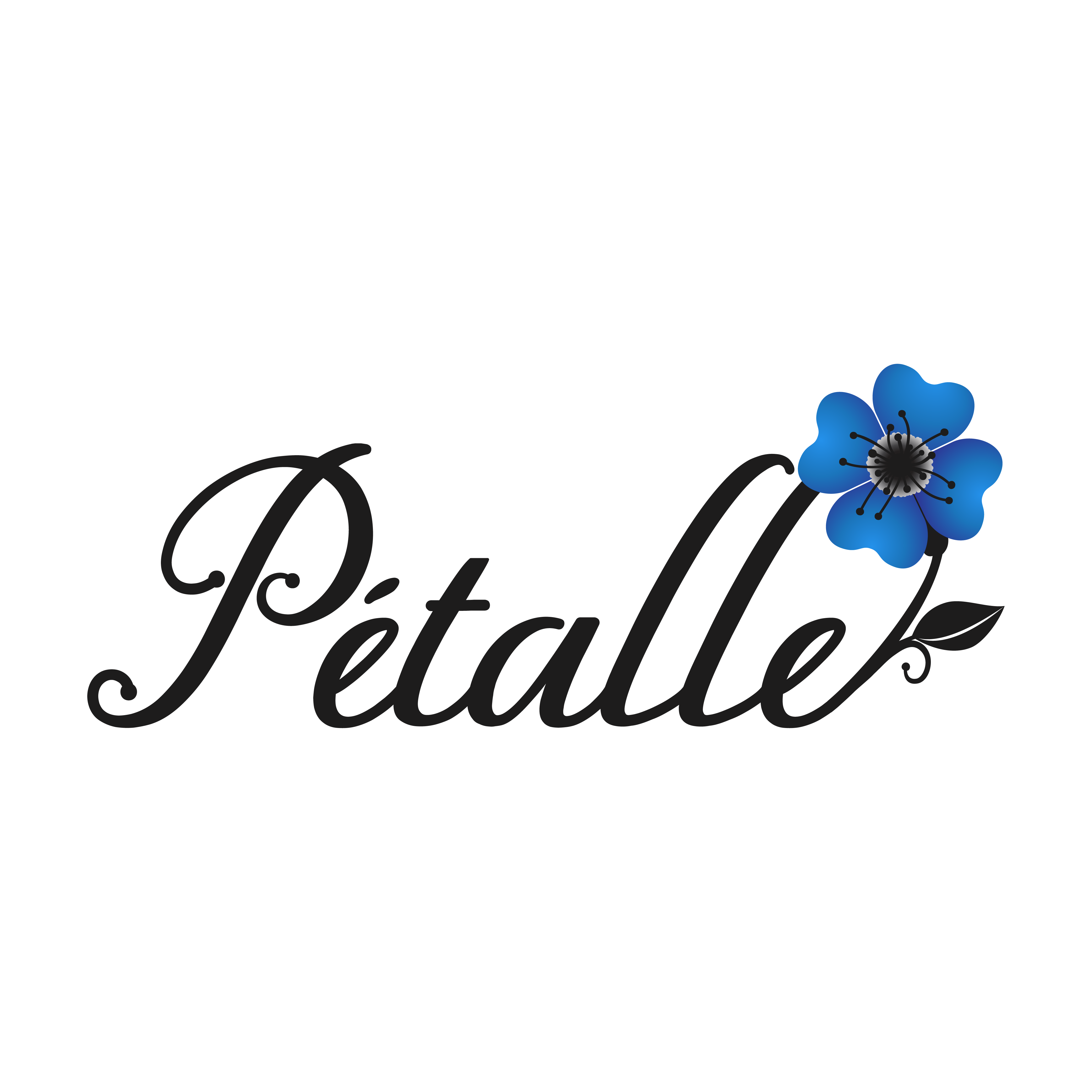 Design an elegant logo for natural skin care and perfumes company.