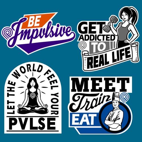 PVLSE Sticker pack