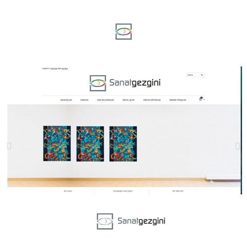 Elegant Logo for Sanatgezgini