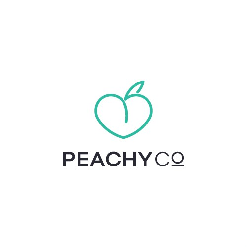 Logo for Peachy Co.