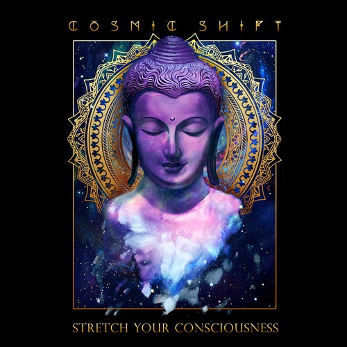 Buddha Painting for Cosmic Shift
