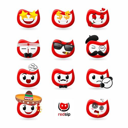 Redsip Emoji Wine Score System