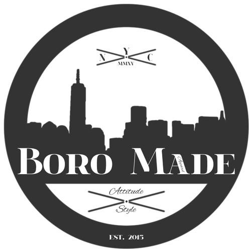 """Logo for start-up hip-hop apparel line """"Boro Made"""""""