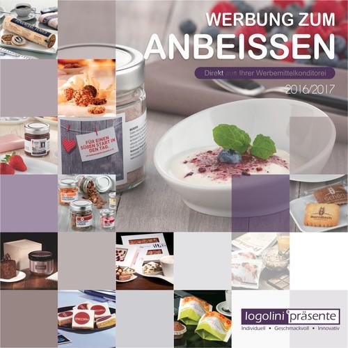 Katalogcover für Werbekekse, Torten & Co.