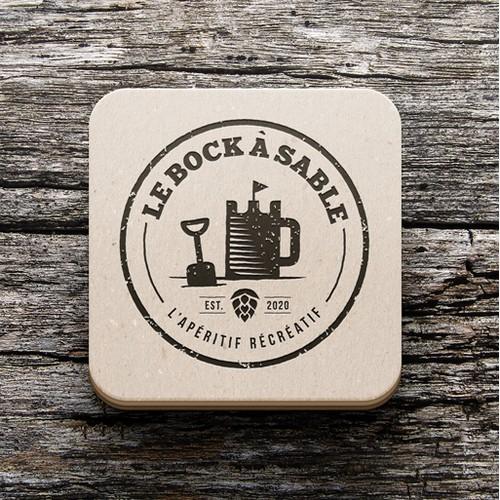 Le Bock à Sable - Logo & Identité visuelle