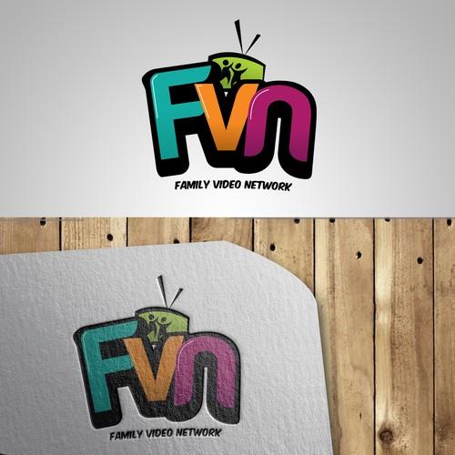 logo for FVN ( Family Video Network )