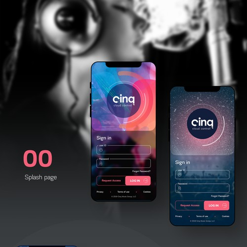 An app design for Music Industry (revenue system)