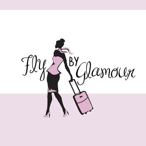 Fly By Glamour (Hair and Makeup w/ Aviation Theme) wants an amazing logo!