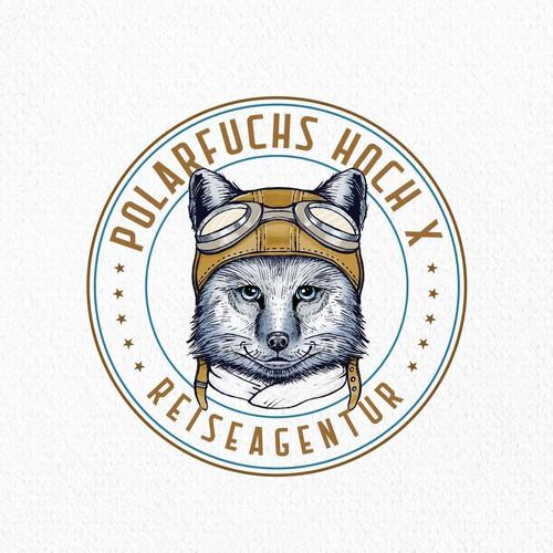 Polarfuchs Hoch X