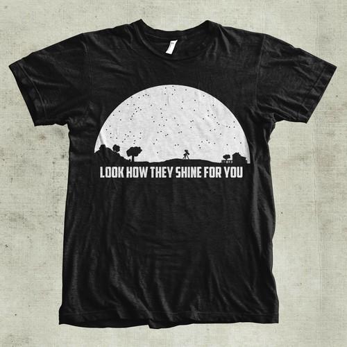Astronomy based T-shirt !!!