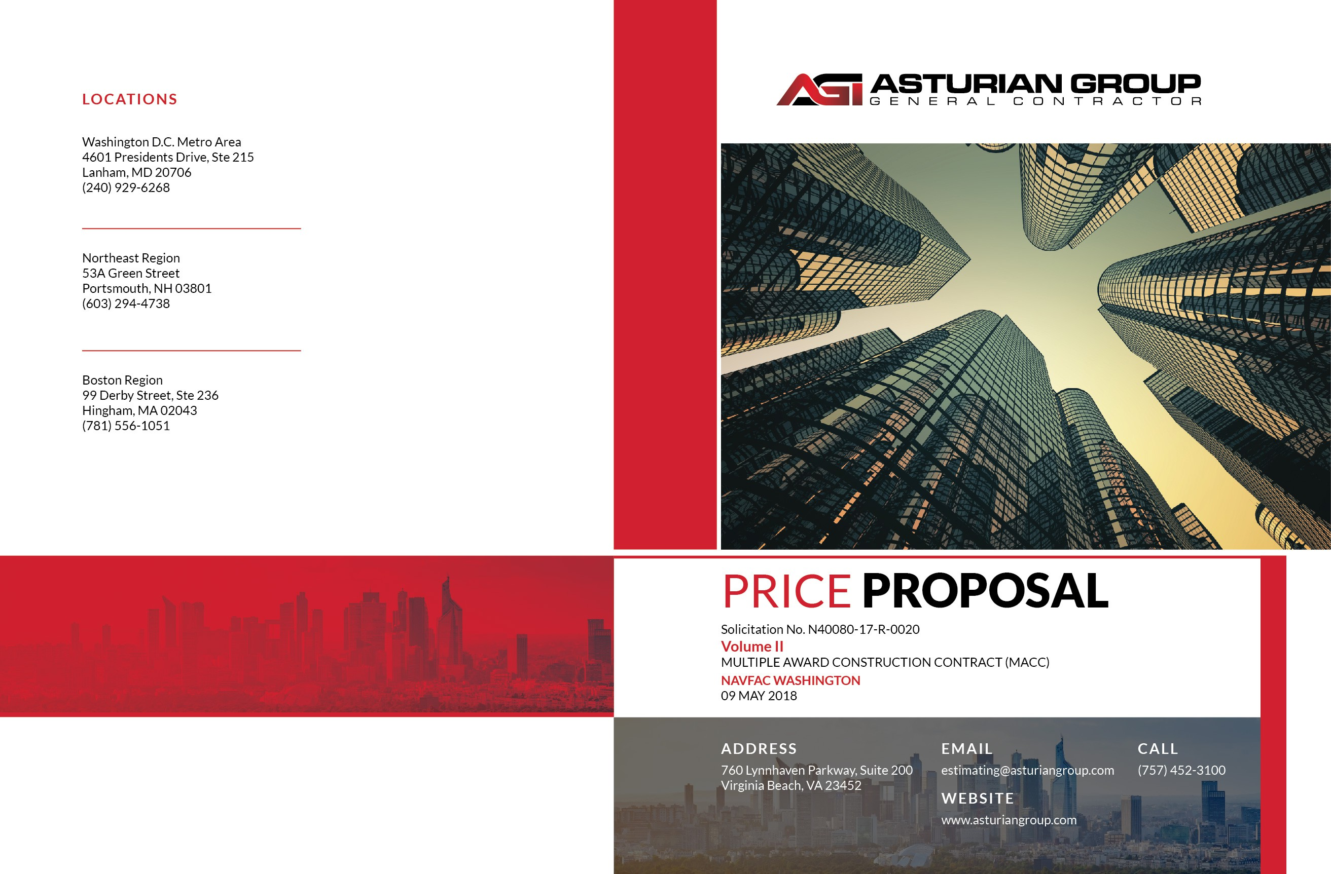 Design a Proposal Cover and Back
