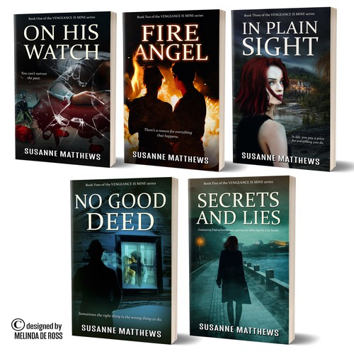Suspense romance series