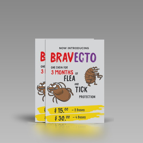 Bravecto Flea Protector Flier