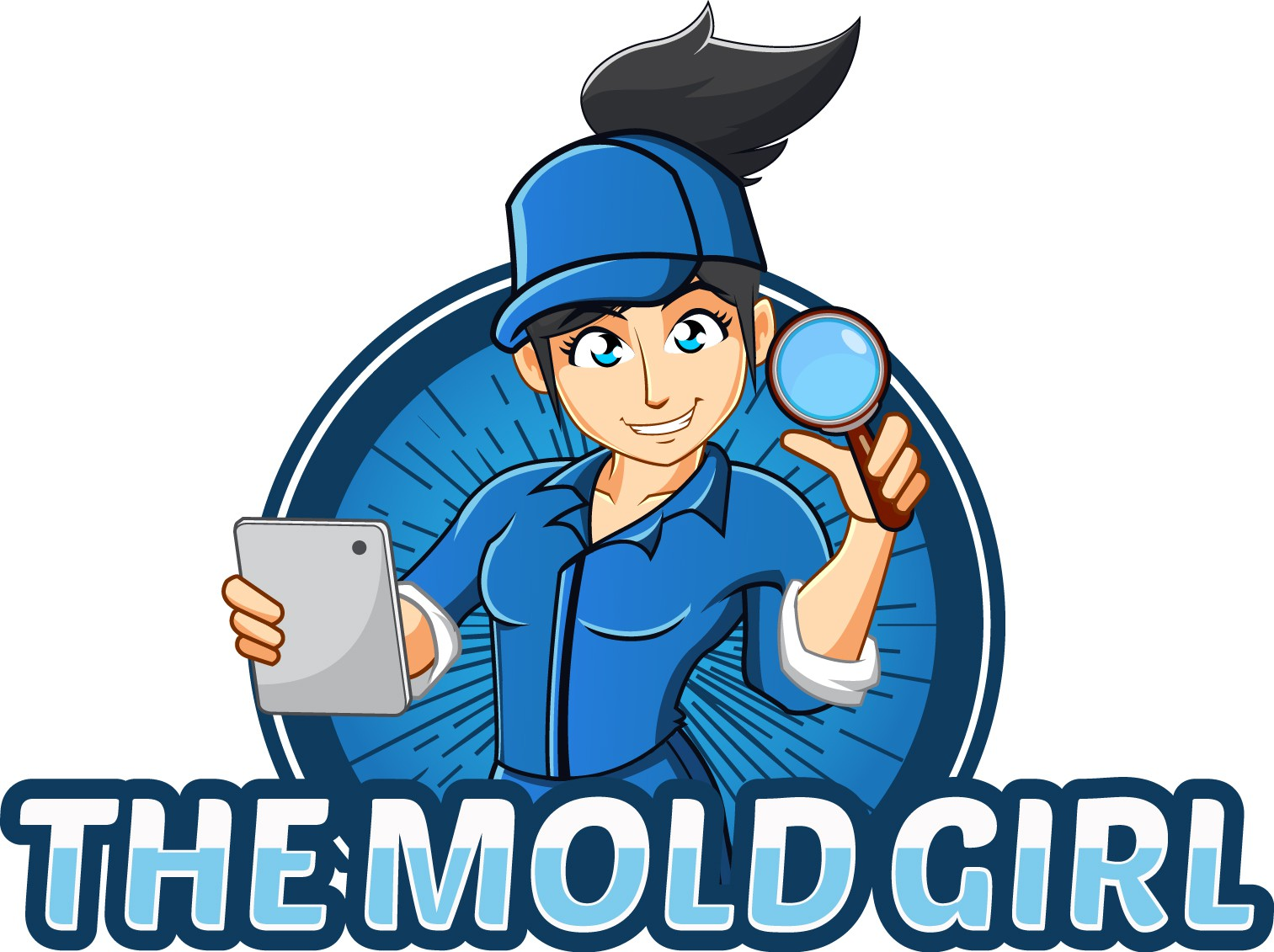 The Mold Girl Logo