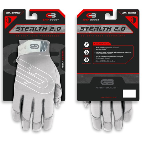 Grip Sports Glove Packaging
