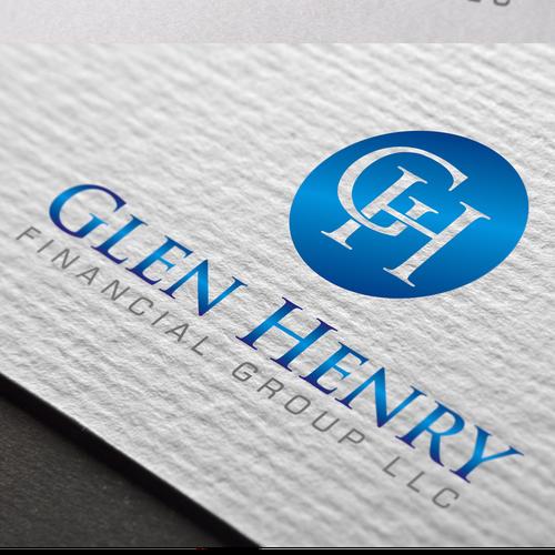 elegant logo for financial company